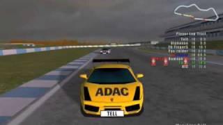 Donington GT3 group 2 - REDLINE