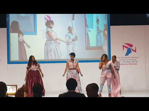 International Working Group(IWG) women and sport  Botswana theme song