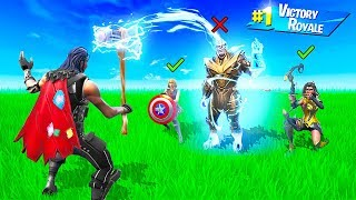 EXTREME THOR SAYS CHALLENGE in FORTNITE!