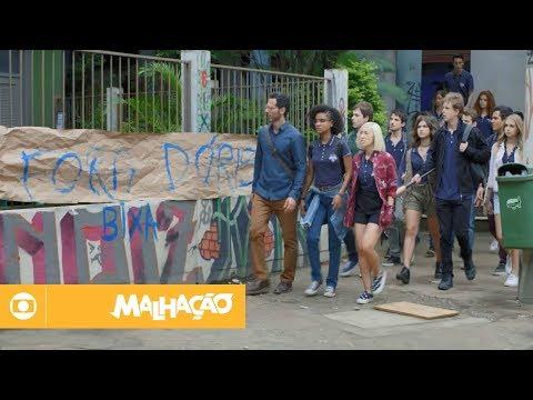 Malhação - Viva a Diferença: capítulo 221 da novela, sexta, 02 de março, na Globo