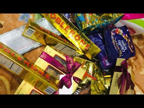 Abu Dhabi duty free   chocolate offer