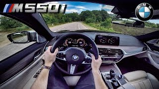 BMW M550i 5 Series G30 POV Test Drive by AutoTopNL