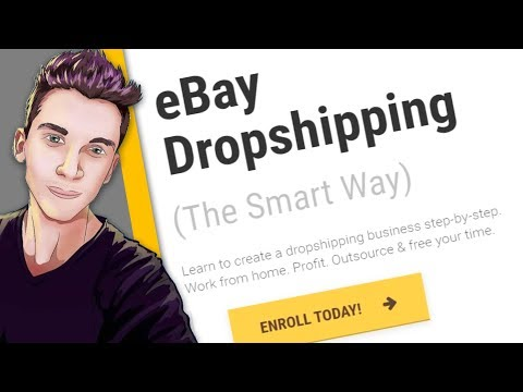 The BEST eBay Dropshipping Course That Exists? | Best Way To Learn eBay Drop Shipping