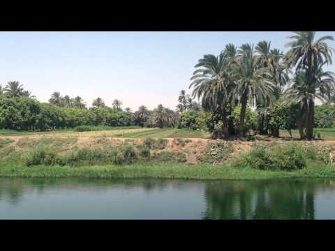 NILE DRIFT - 40 Minutes of Relaxing Nile Cruise Footage with Natural River Water Sounds - No Music