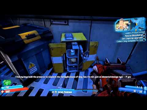 Borderlands 2 Wildlife Preservation & Doctor's Orders Walkthrough with Commentary
