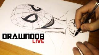 How to Draw [Spider-Man] / Как нарисовать Человека-Паука(How to Draw [Spider-Man] / Как нарисовать Человека-Паука Если вам нравиться, подписываемся, и ставим палец вверх! If..., 2016-01-13T19:08:16.000Z)