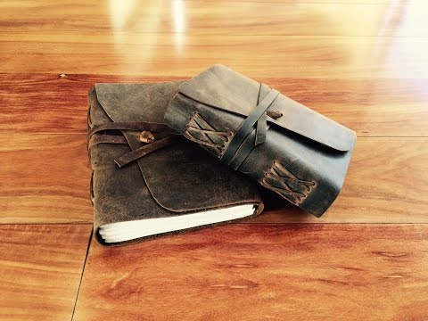 Moonster Leather Journal Review