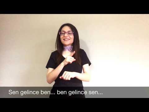 İşaret Dili ile Asil Türkmen - İki Seven Gerek