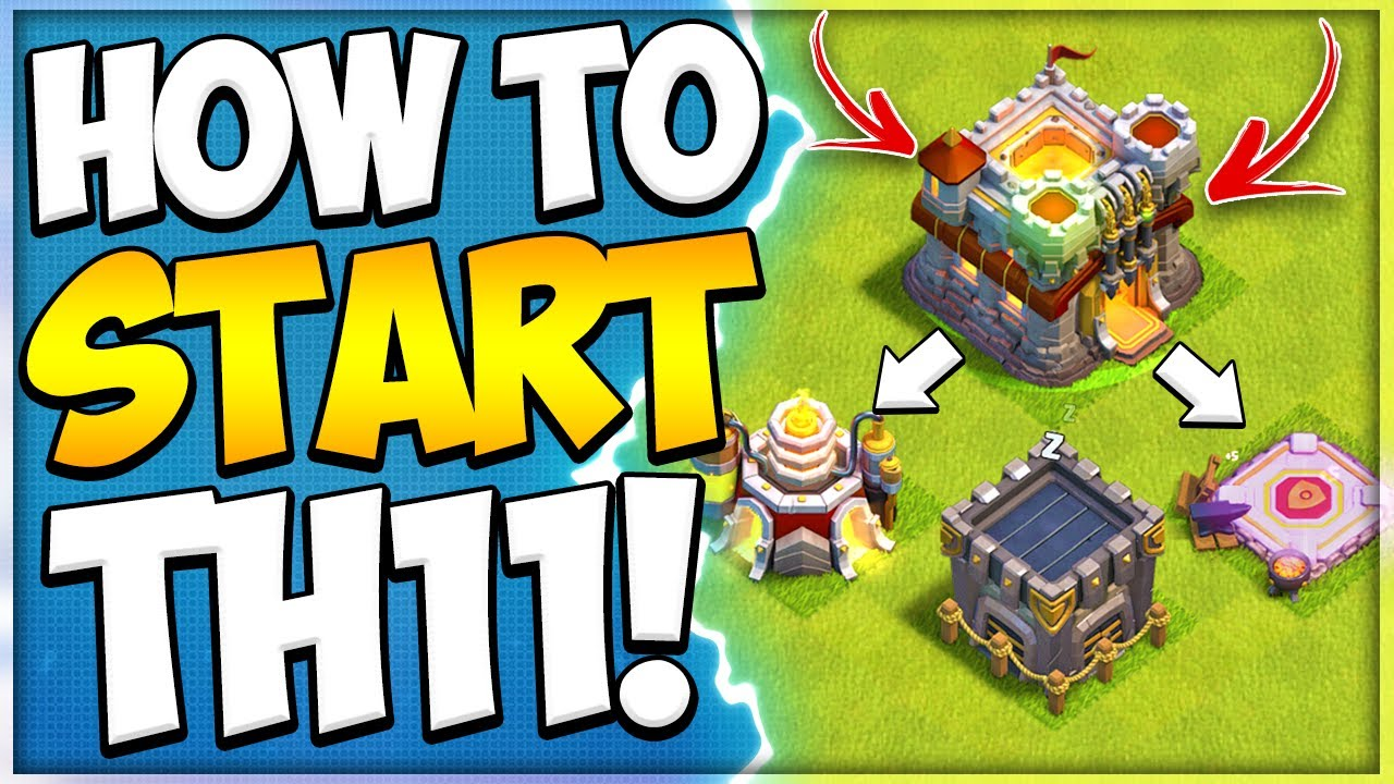 New to TH11 Upgrade Guide! How to Start Town Hall 11 in Clash of Clans