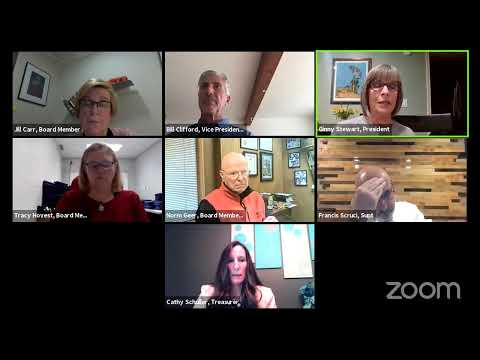 Board of Education Meeting - October 20, 2020