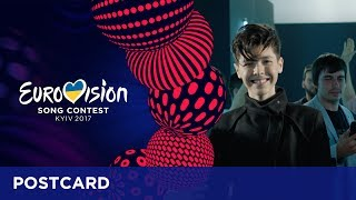 Postcard of Kristian Kostov from Bulgaria - Eurovision Song Contest 2017