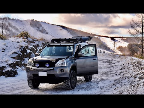 X-TRAIL T31 / The Snow Is For The Winter, Not The Camp But Ran Well.