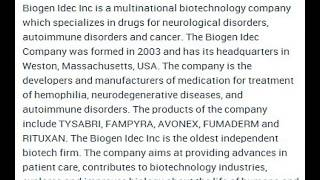 Biogen Idec Inc Corporate Office Contact Information