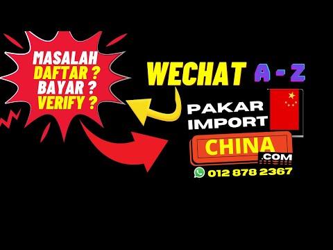 Cara Daftar WeChat Tanpa Scan Barcode 2/3