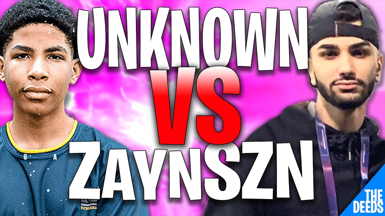 Unknown Embarrasses ZaynSZN After He Challenged Him to a 1v1 Build Fight and 3-0nd Him |Creative 1v1