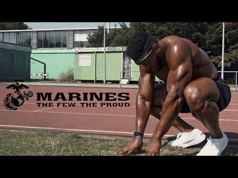 I Took the US MARINE Fitness Test Without Practice | This Hu