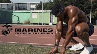 I Took the US MARINE Fitness Test Without Practice | This Hurt Alot!!