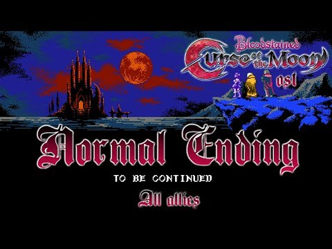 Bloodstained: Curse of the Moon OST - Normal Ending (To be Continued)