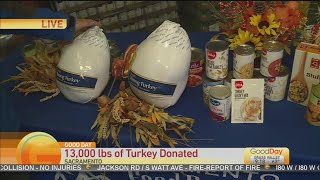 13,000 Lbs Turkey Donation