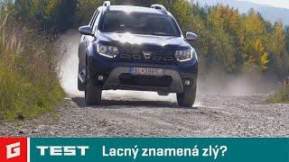 Dacia  Duster 4x4 6M 1,5 dCi - NEW ENG SUB!!! SUV -  TEST - GARAZ.TV