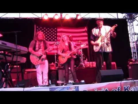 Zac Harmon Band with Bart Walker&Joanne Shaw Taylor-JAM@the Spirit of Kansas Blues Festival 2013