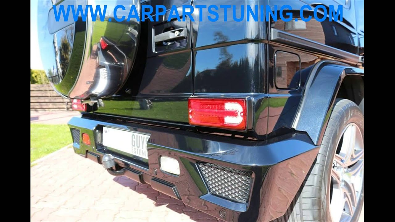 Complete Conversion Mercedes G-class W463 Body Kit G63 G65 AMG Facelift  Retrofit by KITT