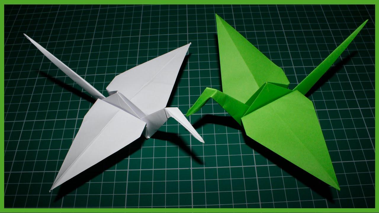 Бумажный голубь - Птица из бумаги - YouTube