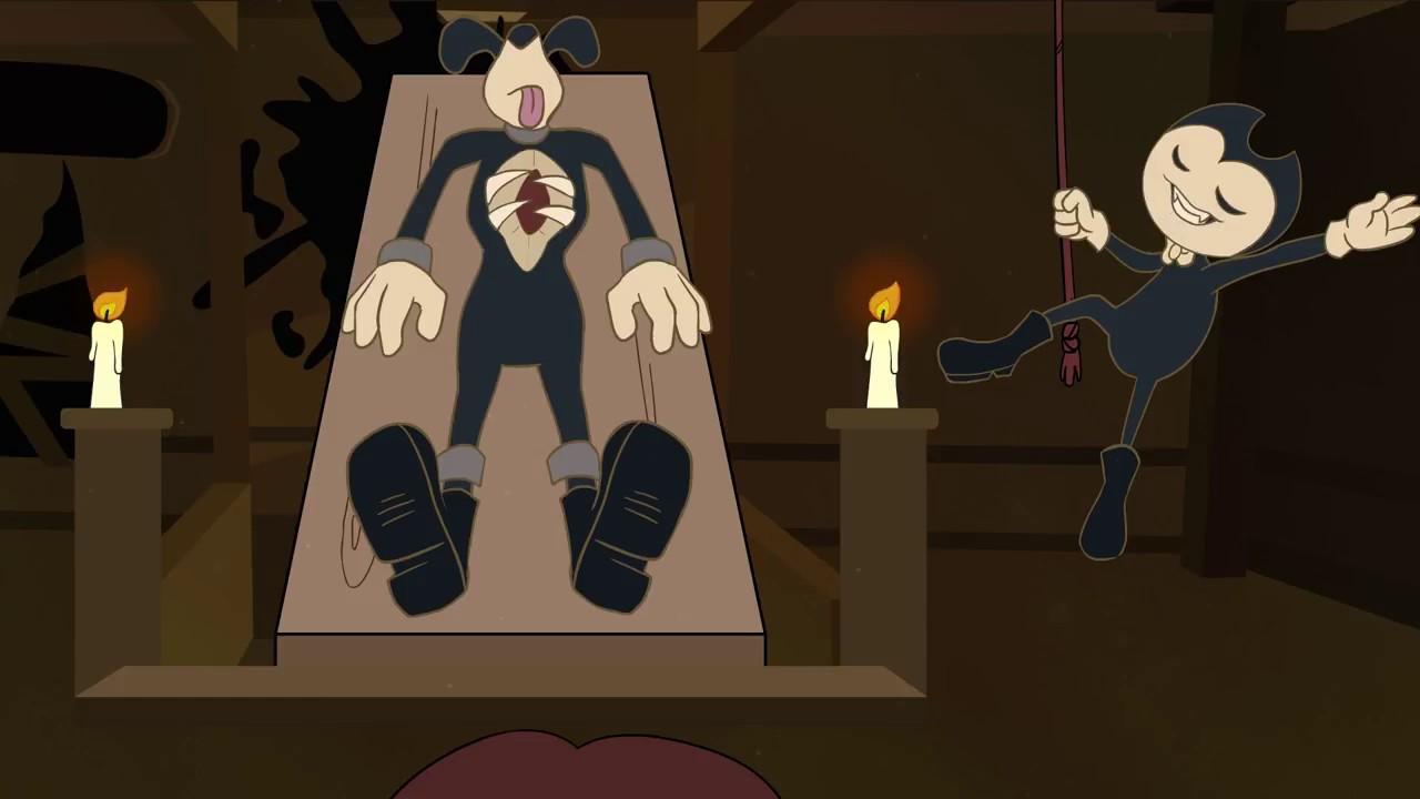 Бенди и чернильная машина анимация сделай нам машину ней люди