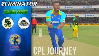 ELIMINATOR - CPL GAMING SERIES 2018 JOURNEY w/ JAMAICA TALLAWAHS - MATCH 32 v BARBADOS TRIDENTS