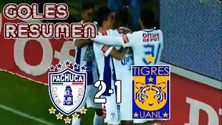 Pachuca vs Tigres 2-1 2016 GOLES RESUMEN Jornada 13 liga MX Clausura 2016