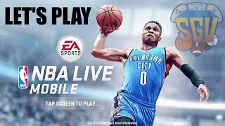 NBA Live Mobile (Android, iOS) - Let's Play EP1 (Tutorial &, First Gold Player)(, 2016-07-05T19:47:15.000Z)