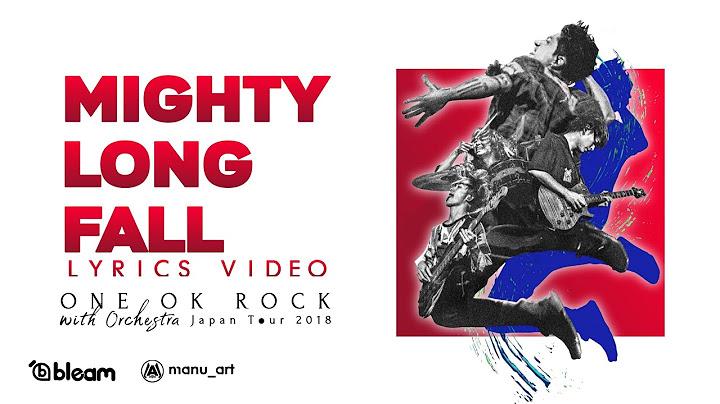 one ok rock  mighty long fall orchestra ver  lyrics video  sub espaol