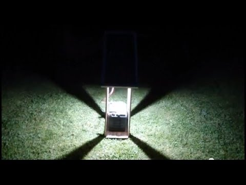 Build a Monster Bright 30W LED Garden Solar Light #4