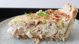 How To Make Mushroom, Cream Cheese And Ham Pie - By One Kitchen Episode 253