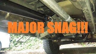 5 speed swap   4x4 truck project   part 9