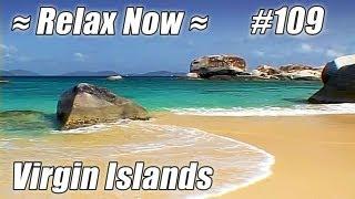 VIRGIN GORDA British Virgin Islands #109 Beaches Ocean Waves sounds Devil