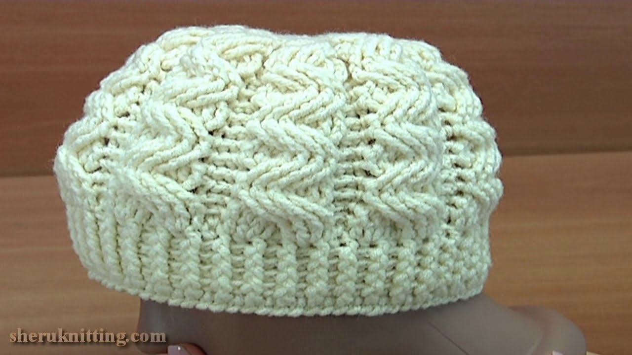 Crochet Aran Hat Tutorial 246 - YouTube e446c7f7ae9