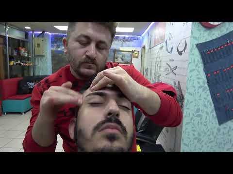 ASMR= Turkish Barber Massage = Pitho Tv BURAK Massage = Ev'den Işe Yolculuk= My One Day