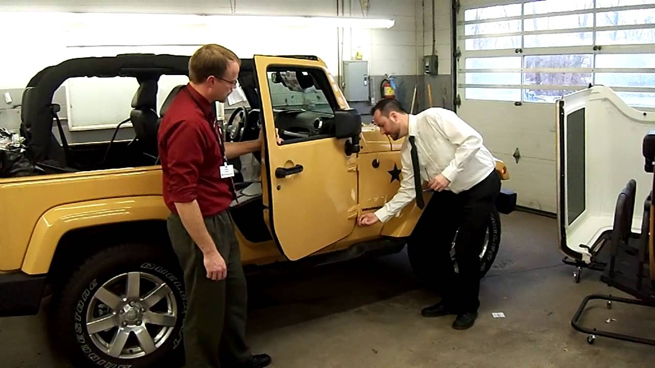 Jeep Wrangler Door Removal Done Easy Youtube