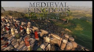 A CLASH OF CLOWNS! Medieval Kingdoms 1212 Total War Mod Gameplay