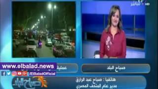 'عبد الرازق': إزاحة الستار عن 'تمثال المطرية' في احتفالية اليوم.. فيديو