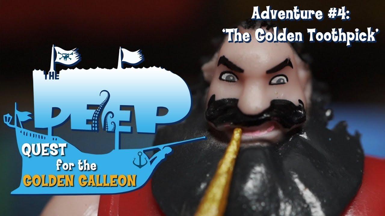 The Deep   Toy Play Adventure: The Golden Toothpick   Cartoons for Children   WildBrain Cartoons