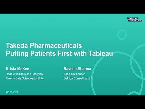 Takeda Pharmaceuticals: Putting Patients First With Tableau