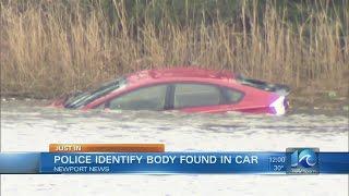 Man found dead in submerged car near Newport News marina ID'd