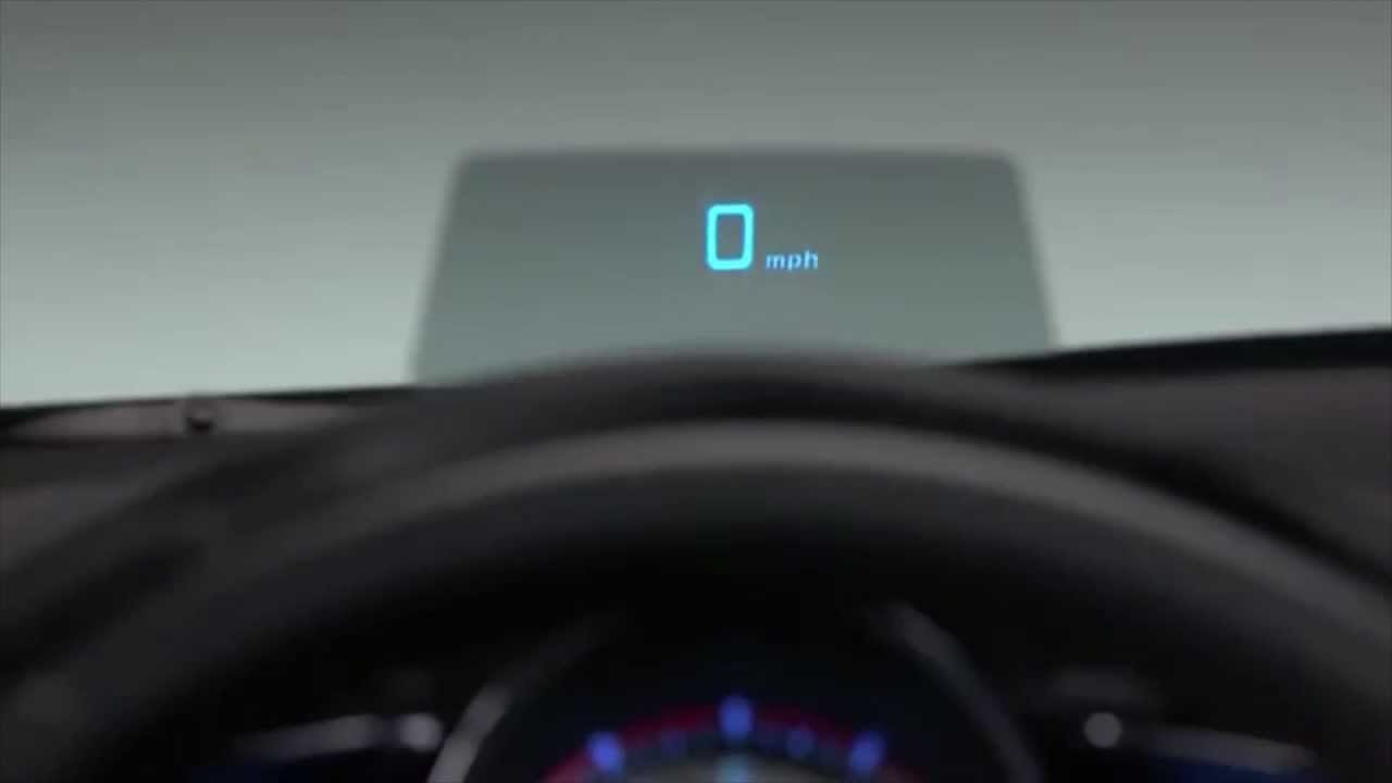 Mazda 3 Owners Manual: Active Driving Display