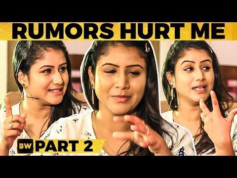 'பிரச்சனை-னு வந்ததும் என்ன விட்டு தள்ளி போயிட்டாங்க'-Alya Manasa Emotional  Vijay TV Raja Rani Semba
