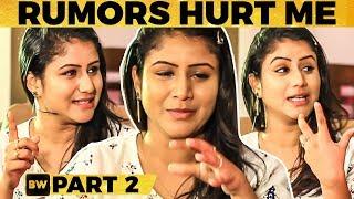 """""""பிரச்சனை-னு வந்ததும் என்ன விட்டு தள்ளி போயிட்டாங்க""""-Alya Manasa Emotional  Vijay TV Raja Rani Semba"""