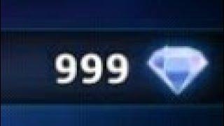3 DIAMANTES A 999 DIAMANTE