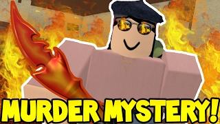 Roblox   MURDER MYSTERY   GODLY HEAT FIRE MURDERER!!
