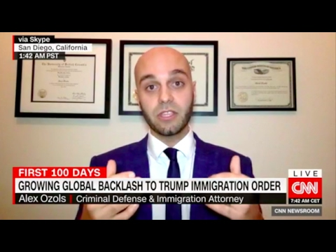 Alex Ozols on CNN Discussing the Newest Executive Order - Ozols Law Firm